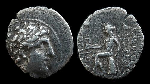 SELEUKID KINGDOM . Alexander I Balas . 152-145 BC . AR Drachm