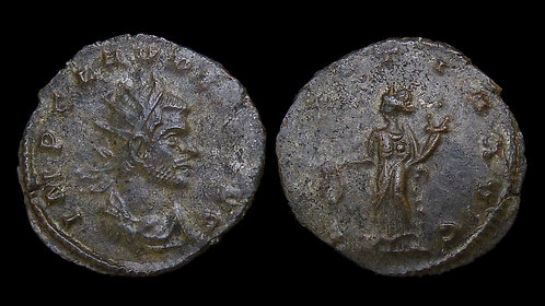 CLAUDIUS II GOTHICUS . AD 268-270 . AE Antoninianus. Siscia mint . **Pedigreed**