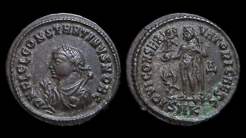 CONSTANTINE II, as Caesar . AD 316-337 . AE3 . *Excellent and pedigreed example*