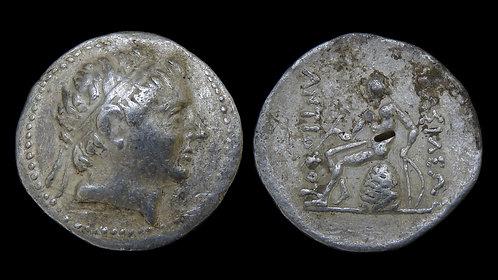 SELEUKID KINGDOM . Antiochos III the Great, 222-187 BC . AR Tetradrachm