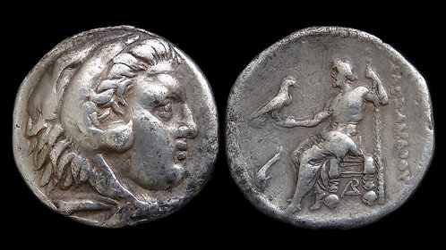 MACEDONIAN KINGDOM . Circa 310-275 BC . Tetradrachm . Alexander the Great type