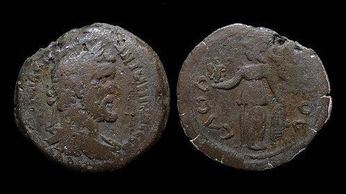 ANTONINUS PIUS . EGYPT, Alexandria . AE Drachm . Athena