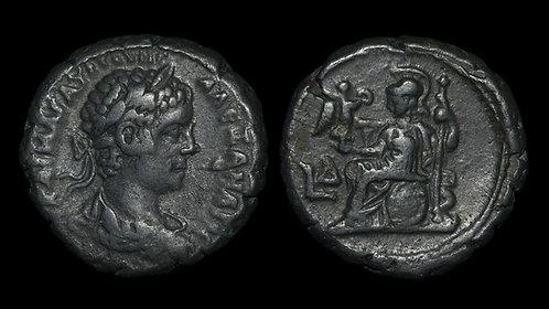 SEVERUS ALEXANDER . EGYPT, Alexandria . Potin Tetradrachm . Ex Hermanubis Coll.