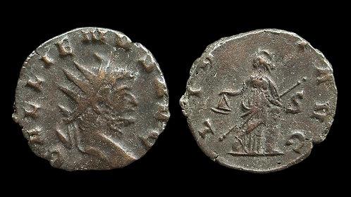 "GALLIENUS . AD 253-268 . Antoninianus . ""LIBERT"" . Ex Baron Chaurand Collection"