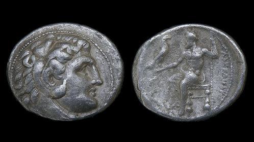 MACEDONIAN KINGDOM . Alexander the Great, 336-323 BC . AR Tetradrachm . Lifetime