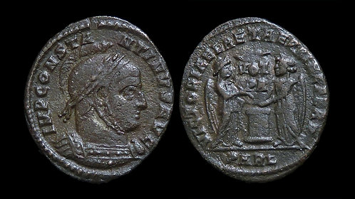 """CONSTANTINE I . AD 306-337 . AE3 . """"Joyous Victory to the Eternal Prince"""""""