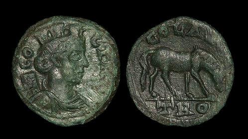 PSEUDO-AUTONOMOUS . TROAS, Alexandria Troas . Time of Valerian/Gallienus . AE21