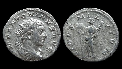 """ELAGABALUS . AD 218-222 . Antoninianus . """"Fides"""""""