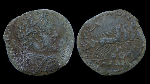 CARACALLA . THESSALY, Koinon of . AE Triassarion . Triga . Ex BCD Collection