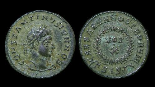"""CONSTANTINE II, as Caesar . AD 316-337 . AE3 . """"VOT X"""" . Siscia"""