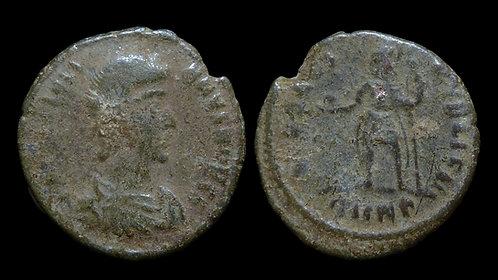 """JULIAN THE APOSTATE, as Caesar . AD 355-360 . AE4 . """"SPES REIPVBLICE"""""""