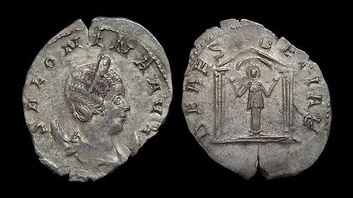 SALONINA . AD 254-268 . AE Antoninianus . Deae Segetiae, type unique to Salonina