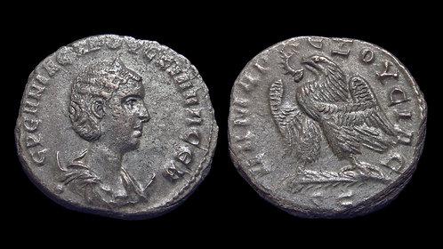 HERENNIA ETRUSCILLA . SYRIA, Seleucis and Pieria, Antioch . AR Tetradrachm