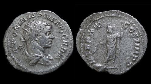 "CARACALLA . AD 198-217 . Antoninianus . ""Serapis"""