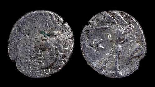 BITHYNIA, Herakleia Pontika . Klearchos I, Tyrant, 364-352 BC . AR Obol . Scarce
