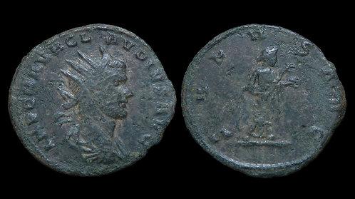 CLAUDIUS II GOTHICUS . AD 268-270 . AE Antoninianus . Salus . *Rare & Pedigreed*