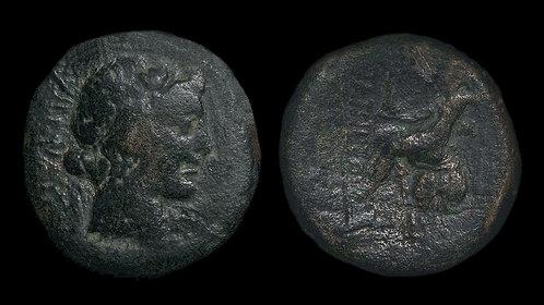 PSEUDO-AUTONOMOUS . BITHYNIA, Nicaea . 59 BC . AE23 . Dated issue