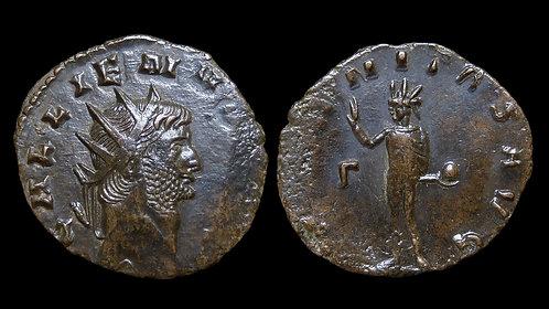 """GALLIENUS . AD 253-268 . Antoninianus . """"AETERNITAS AVG"""""""