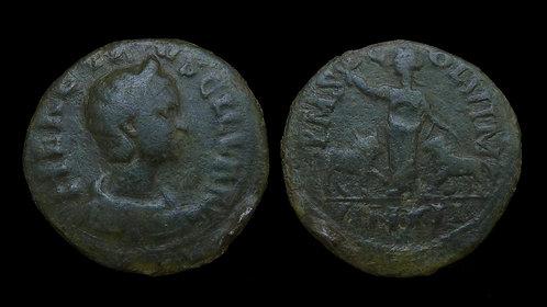 HERENNIA ETRUSCILLA . MOESIA SUPERIOR, Viminacium . AE27 . Ex Roma Numismatics