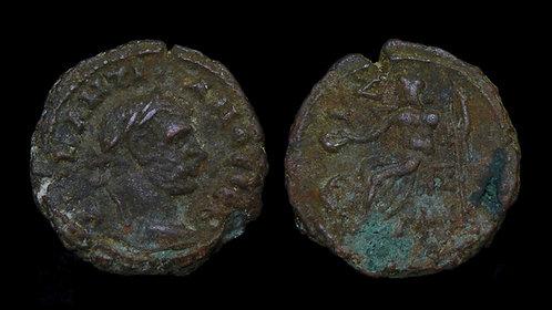 DIOCLETIAN . EGYPT, Alexandria . Potin Tetradrachm . Zeus