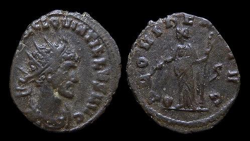 """QUINTILLUS . AD 270 . Antoninianus . """"Providentia"""""""