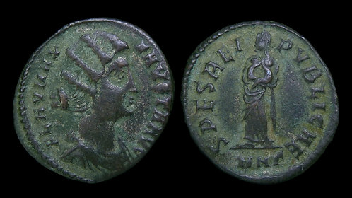 FAUSTA . AD 324-326 . AE3 . Executed wife of Constantine the Great
