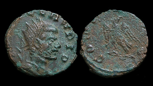 CLAUDIUS II GOTHICUS, DIVUS . AD 268-270 . AE Antoninianus . CONSECRATIO / Eagle