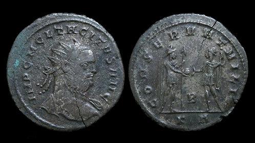TACITUS . AD 275-276 . AE Antoninianus . *Ex Clain-Stefanelli Collection*