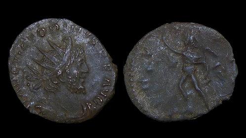 "VICTORINUS, Usurper . AD 269-271 . Antoninianus . ""INVICTVS"" . Found in Norfolk"
