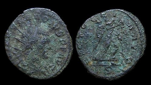 """CLAUDIUS II GOTHICUS . AD 268-270 . Antoninianus . """"VICTORIA AVG"""" .  Milan"""