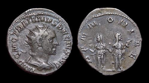 TRAJAN DECIUS . AD 249-251 . Antoninianus . Pannoniae . Ex E.E. Clain-Stefanelli