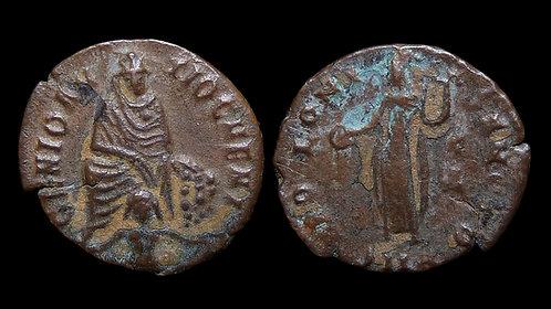 CHRISTIAN PERSECUTION ISSUE . Temp. Maximinus II Daia . AD 310-313 . AE