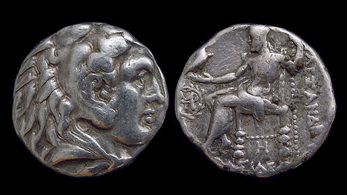 MACEDONIAN KINGDOM . Alexander the Great, 336-323 BC . Tetradrachm . Babylon