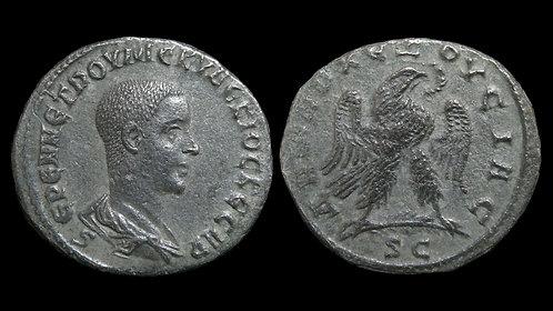 HERENNIUS ETRUSCUS . SYRIA, Seleucia and Pieria, Antioch . Billon Tetradrachm