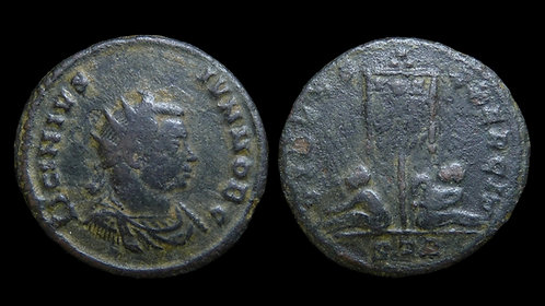 "LICINIUS II, as Caesar . AD 317-324 . Follis . ""VIRTVS EXERCIT"" . Rare"