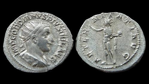 "GORDIAN III . AD 238-244 . Antoninianus . ""The Eternal Sun"""