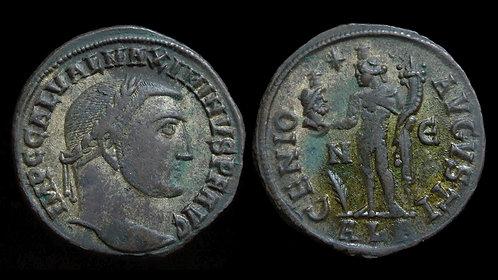 MAXIMINUS II DAIA . AD 310-313 . AE Follis . Genius with head of Serapis