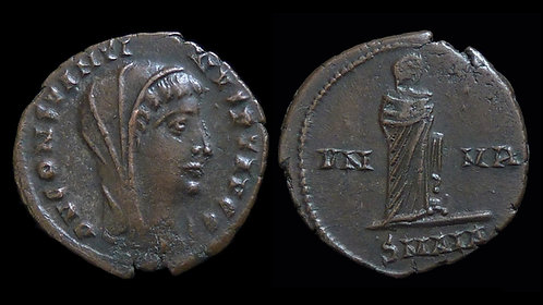 CONSTANTINE I, Posthumous . AD 306-337 . AE4 . Alexandria mint