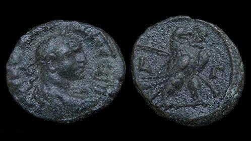CLAUDIUS II GOTHICUS . EGYPT, Alexandria . Potin Tetradrachm . *Pedigreed*