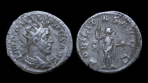 """PHILIP THE ARAB . AD 244-249 . AR Antoninianus . """"NOBILITAS AVGG"""" . Scarce"""