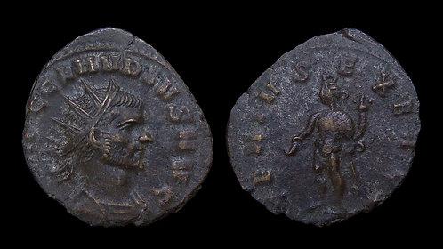 CLAUDIUS II GOTHICUS . AD 268-270 . Antoninianus .Ex Finn Johannessen Collection