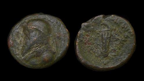 PARTHIAN EMPIRE . Mithridates II (123-88 BC) . AE Chalkous . Ex Parthicus Coll.