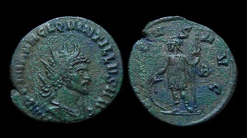 """QUINTILLUS . AD 270 . Antoninianus . """"Virtus"""""""