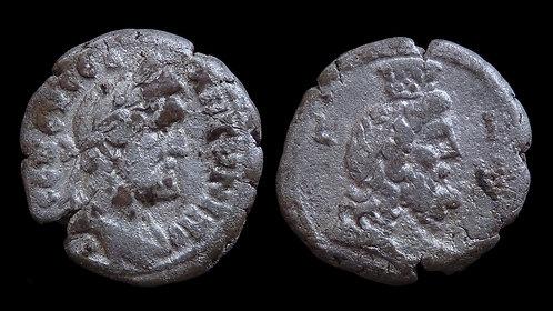 ANTONINUS PIUS . EGYPT, Alexandria . Bi Tetradrachm . **Ex Dattari Collection**