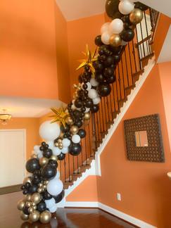 Staircase Balloon garland