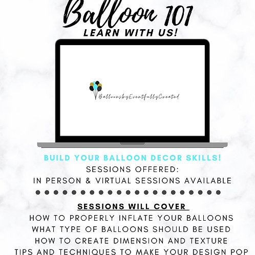 Balloon 101 Session: Invest & Grow
