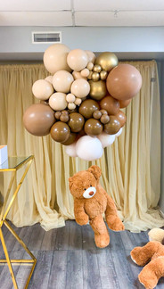 Floating Teddy Bear Structure