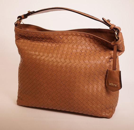 Flechtledertasche von Abro Tasche