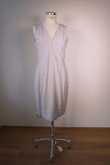 Kleid, Cinque hellblau gestreift
