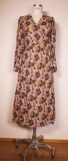 Wickel-Kleid, Blumendessin